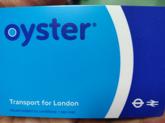 2 oyster card